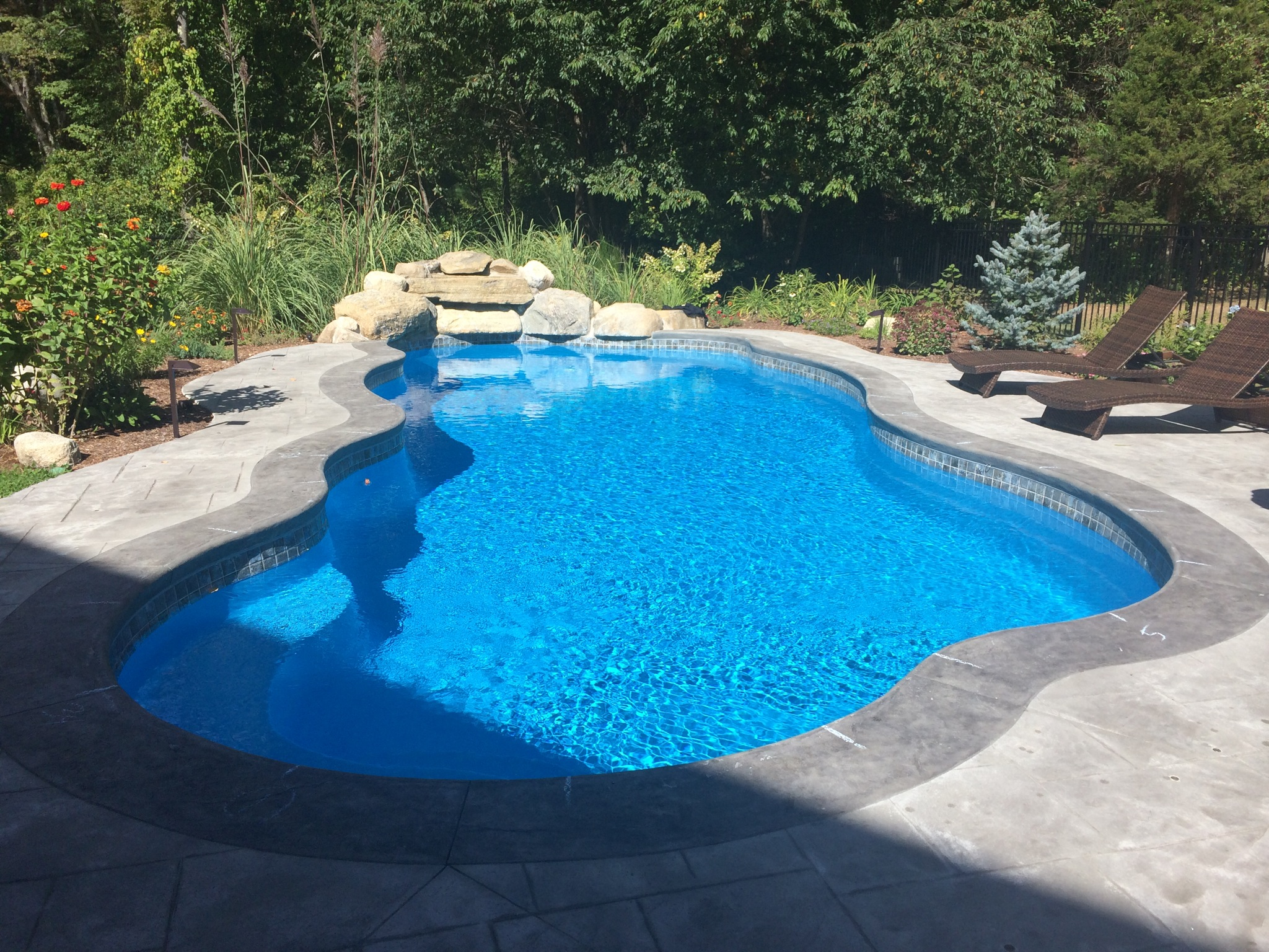 Inground pools to fit every backyard space and budget for One piece inground swimming pool