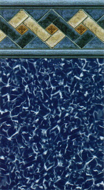 The vinyl works collection beaded designs for Pool design ventura